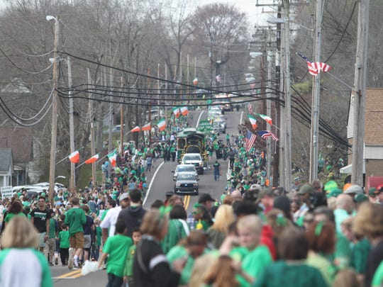 Thousands turned out Saturday for Erin's annual St.