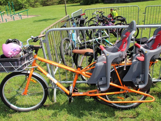 If you bike to the Earth Festival at Croft Farm, you
