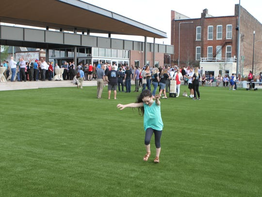 The long-awaited Downtown Commons opened in April.