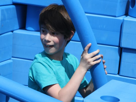 Downtown Commons unveiled its new Imagination Playground Saturday afternoon.