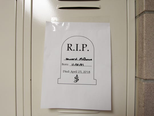 """As students were called """"dead"""" during a recent school"""
