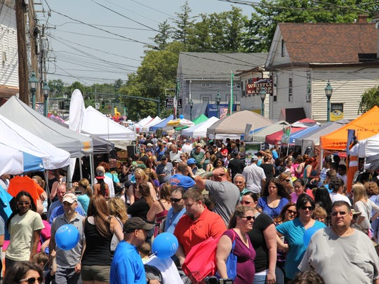 Enjoy great food, kids activities, car show and more at the annual Nanuet Street Fair.