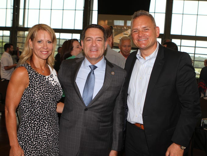 Camie Green, state Sen. Mark Green and Derek van der