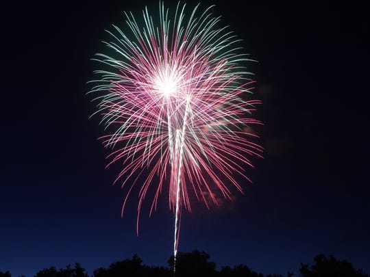 Cumberland City hosted its traditional fireworks show