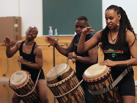 Bichini Bia Congo dance company is preforming in Battle