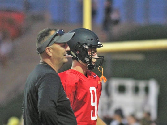Head coach Mike Engler is 39-24 in his five-plus seasons at Ryle.