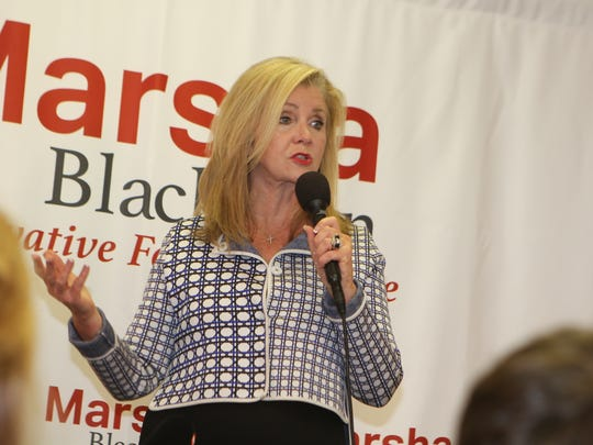 Marsha Blackburn's scheduled campaign stops in Clarksville continue all the way to election day on Tuesday.