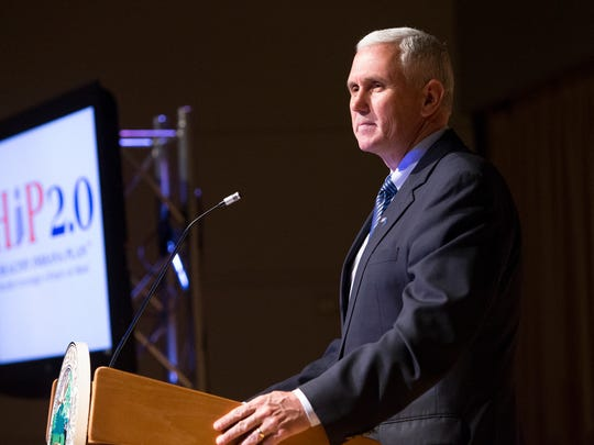 "Gov. Mike Pence says he is ""cautiously optimistic"" that he has come up with a plan to expand health care coverage to uninsured low-income adults."