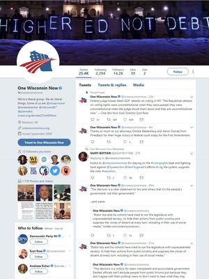 A federal judge says top Republicans in the Wisconsin Legislature violated the First Amendment when they blocked One Wisconsin Now, a liberal advocacy group, from seeing their Twitter feeds.