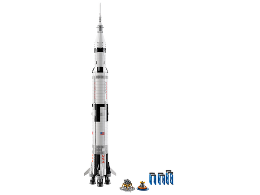 new lego set lets you build your very own saturn v rocket