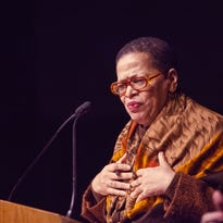 Economist, author and college president Julianne Malveaux will be the keynote speaker for the Links, Incorporated White Rose Friendship Awards Luncheon on May 9. In 2013, Malveaux spoke at RIT's Expressions of King's Legacy Celebration.
