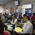 Guam residents participated Wednesday in the first of a three-day series of public hearings on a draft of regulations for the island's medical marijuana program. The first hearing was held at the Guam Legislature.