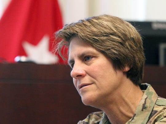 Brig. Gen Cindy Jebb is the new dean of the academic