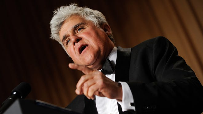 WASHINGTON - MAY 01: Comedian Jay Leno speaks during the White House Correspondents' Association Dinner at the Washington Hilton in Washington, DC, on May first, 2009.(Pictured:Jay Leno) Photo by Olivier Douliery /ABACAUSA.COM