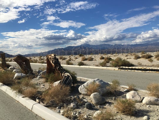 The Avalon real estate development in Palm Springs
