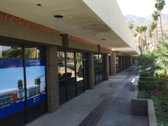 The Courtyard at Palm Springs is a largely vacant 20,400-square-foot