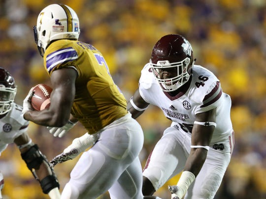 Dez Harris will be featured at media days for Mississippi