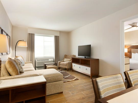 Homewood Suites by Hilton is an all-suite residential-style hotel brand. This one is located in Augusta, Ga.