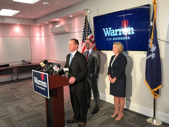 Lt. Gov. Kevin Bryant has endorsed John Warren as he