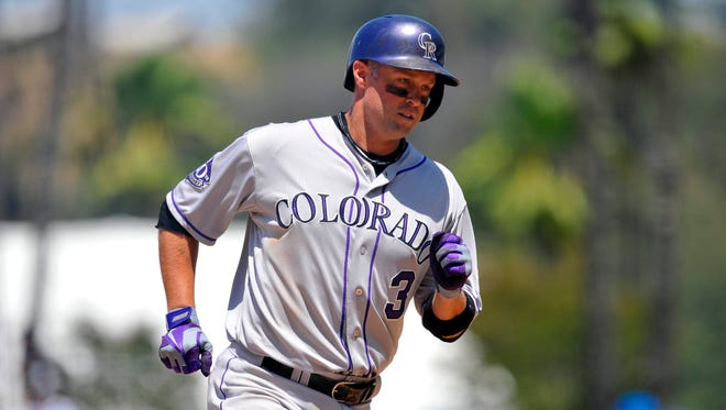 Michael Cuddyer hit .332 with 10 home runs and 31 RBI this year.