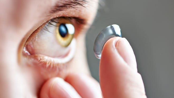 Keep an eye on your contact lenses.