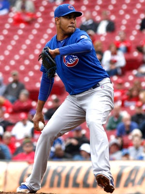 Hector Rondon saved 30 games this season for the Cubs.