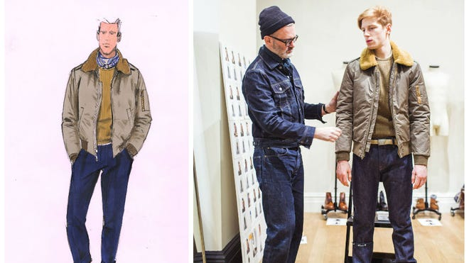 J.Crew's men's collection pairs ruggedness with vintage fabrics.