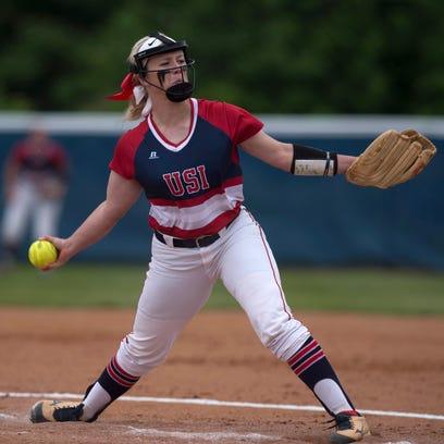 Sophomore avoids slump to lead USI softball back to World Series