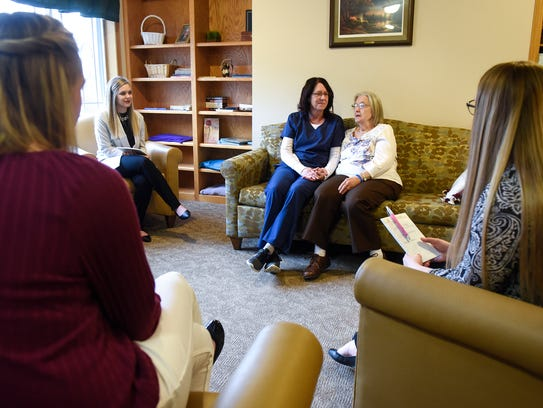 Nurse Gayle Vogel talks about what she likes most about