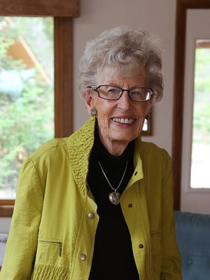 Harriet Swanson was photographed at her Winchester home, Wednesday, May 6, 2015.