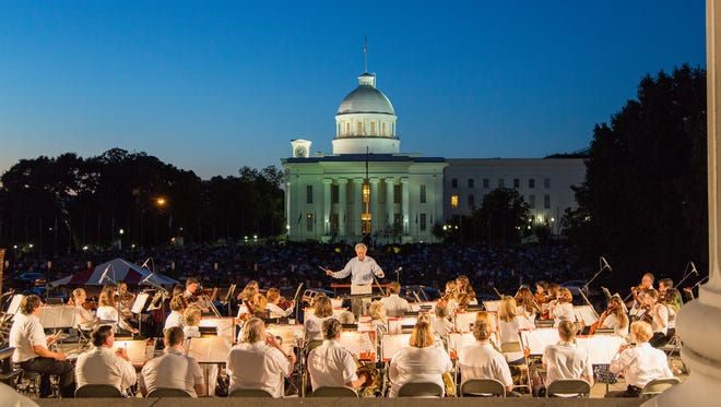 Montgomery Symphony Orchestra's annual Jubilee Pops Concert will be held Friday on the grounds of the Alabama Archives and History building.
