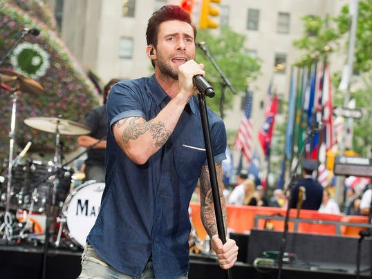 AP Maroon 5 Perform on The Today Show
