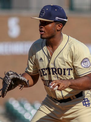 Country Day's John Malcom went 2-for-2 with a run scored and stolen base in the East's 7-4 All-Star win over the West at Comerica Park.