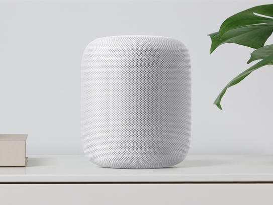 Apple's new HomePod features seven tweeters, one subwoofer