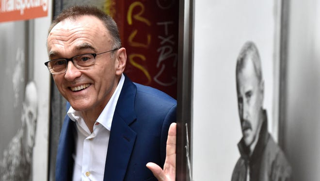 British film director, Danny Boyle, poses during the presentation of his latest film 'T2 Trainspotting,' in Madrid, on Thursday.