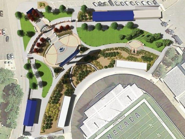 A conceptual design shows an overview of Donald L.