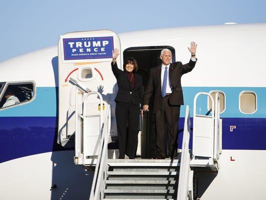 Pence Stumps for Trump