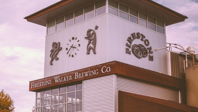 The Firestone Walker Brewing Co. in Paso Robles, Calif.