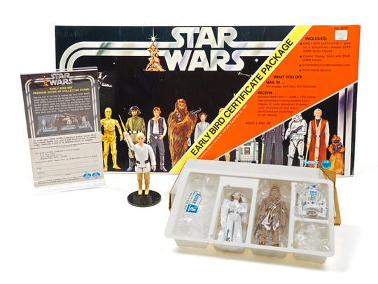 The first figures 'Star Wars' fans could get their