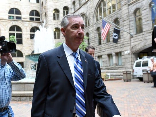 District Attorney Kevin Steele, prosecutor in the Bill