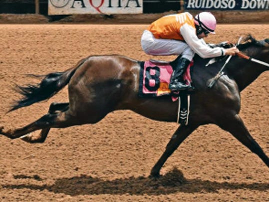 Carson City Girl Carson City Girl showed that added distance should be to her advantage when she drew out to set the fastest-qualifying time to the 380,000 Zia Futurity.