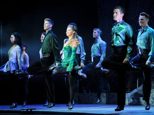 """The cast of """"Riverdance - The 20th Anniversary World Tour."""""""