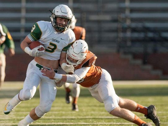 Former Edgewood wide receiver Jackson Tate gives Park
