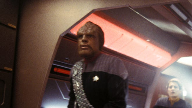 "Actor Michael Dorn played Worf in the ""Star Trek: Next Generation"" TV series and movies."