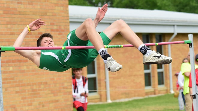 Mogadore sophomore Mason Murphy was a regional qualifier in the high jump last season.