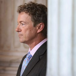 Sen. Rand Paul at the Capitol on Monday.