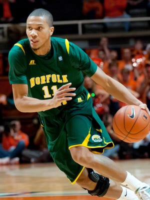 Norfolk State guard Pendarvis Williams returns to the Spartans as the reigning MEAC Player of the Year.