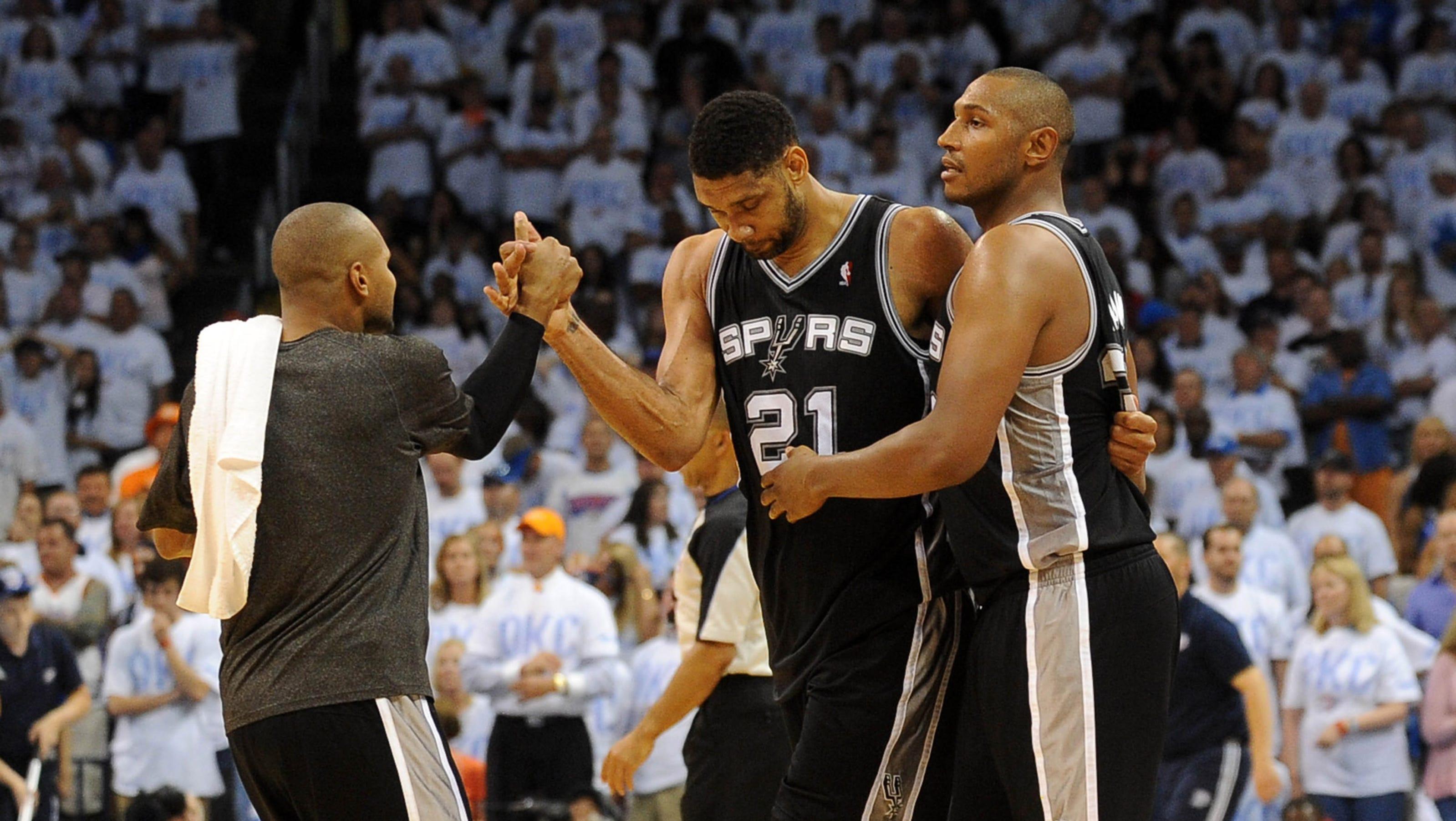 Tim Duncan: Spurs 'happy that it's the Heat again'