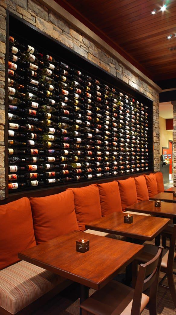 firebirds Wine Wall