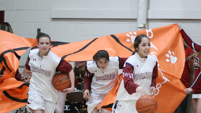 The Deming High Lady Wildcat basketball team is hoping to break therough with a victory Tuesday when they host the Chaparral Lobos at 7 p.m. in DHS Wildcat Gym.